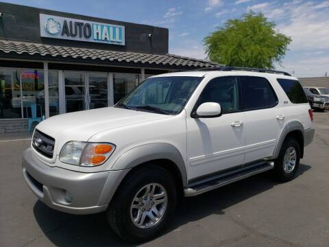 2003 Toyota Sequoia for sale at Auto Hall in Chandler AZ