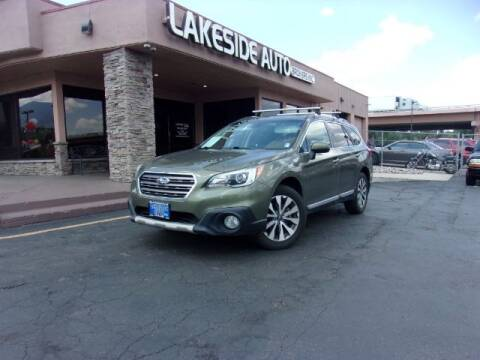 2017 Subaru Outback for sale at Lakeside Auto Brokers in Colorado Springs CO