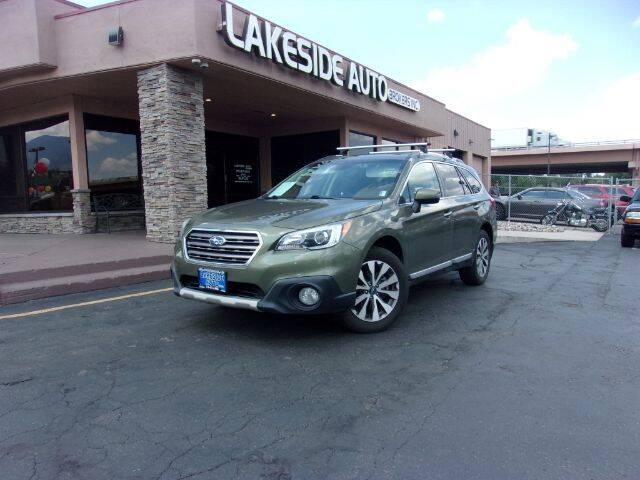 2017 Subaru Outback for sale at Lakeside Auto Brokers Inc. in Colorado Springs CO