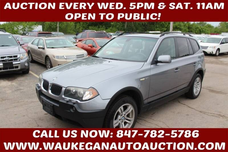 2005 BMW X3 for sale at Waukegan Auto Auction in Waukegan IL