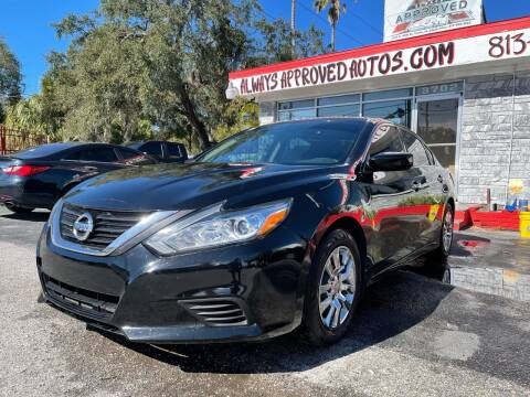 2018 Nissan Altima for sale at Always Approved Autos in Tampa FL