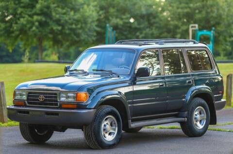 1996 Toyota Land Cruiser for sale at EAST CHESTER AUTO GROUP INC. in Kingston NY