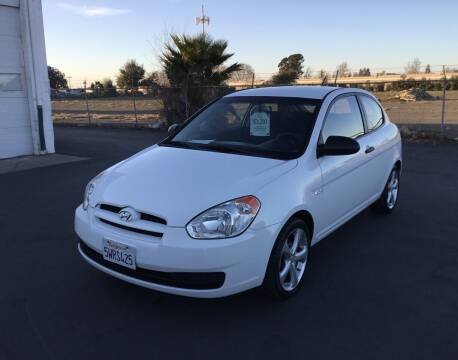 2007 Hyundai Accent for sale at My Three Sons Auto Sales in Sacramento CA