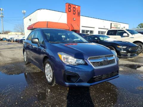2012 Subaru Impreza for sale at Best Buy Wheels in Virginia Beach VA