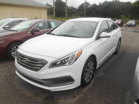 2015 Hyundai Sonata for sale at AUTO MART in Montgomery AL