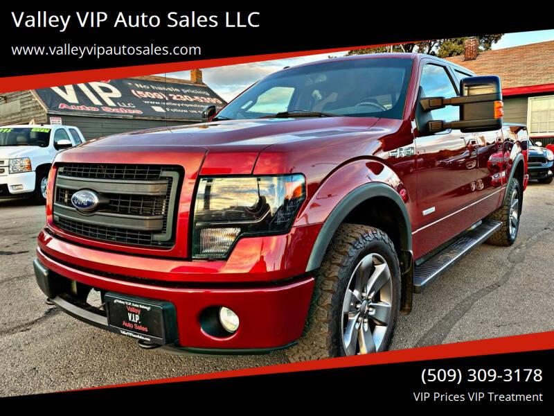 2013 Ford F-150 for sale at Valley VIP Auto Sales LLC in Spokane Valley WA