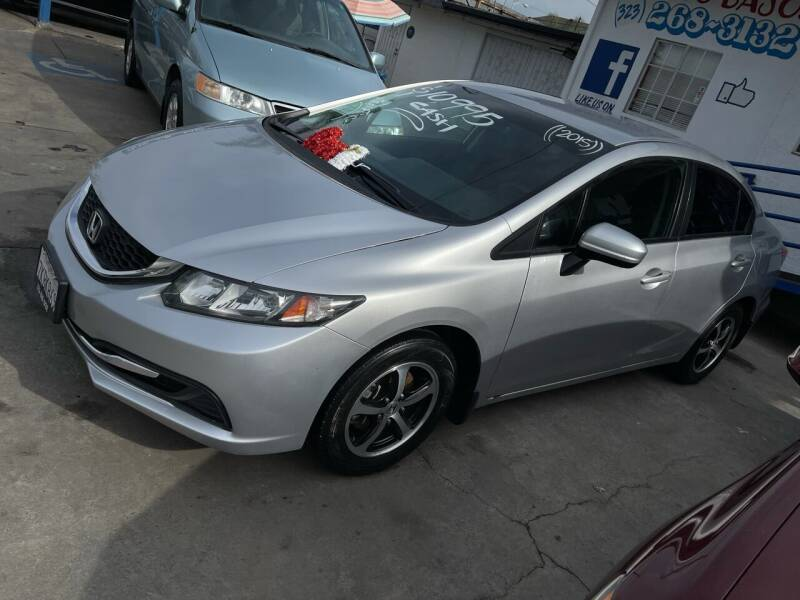 2015 Honda Civic for sale at Olympic Motors in Los Angeles CA