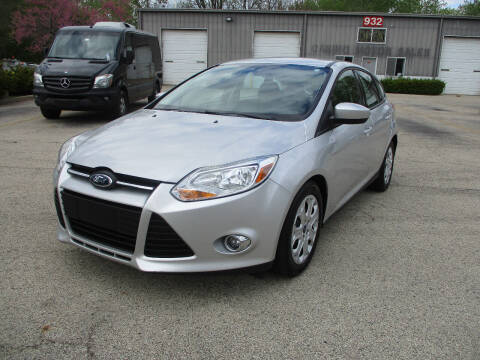 2012 Ford Focus for sale at Triangle Auto Sales in Elgin IL