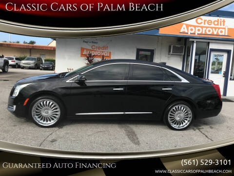 2015 Cadillac XTS for sale at Classic Cars of Palm Beach in Jupiter FL