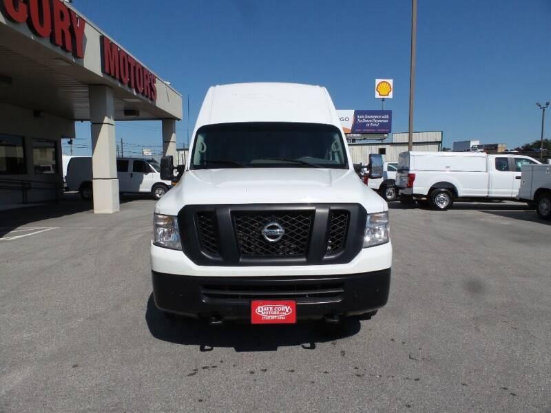 2018 Nissan NV Cargo 2500 HD SV 3dr Cargo Van w/High Roof (V8) - Houston TX