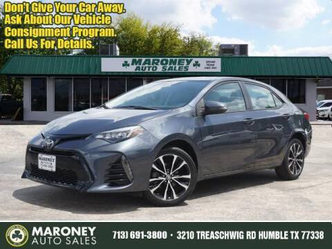 2017 Toyota Corolla for sale at Maroney Auto Sales in Humble TX