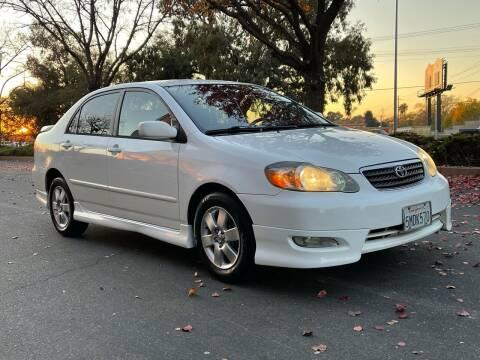 2005 Toyota Corolla for sale at COUNTY AUTO SALES in Rocklin CA