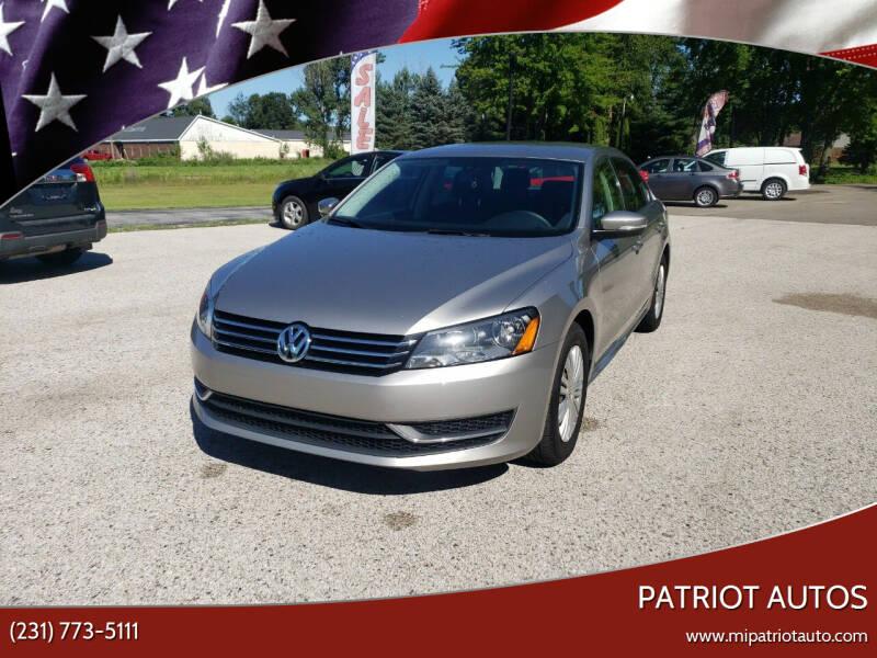 2014 Volkswagen Passat for sale at Patriot Autos in Muskegon MI