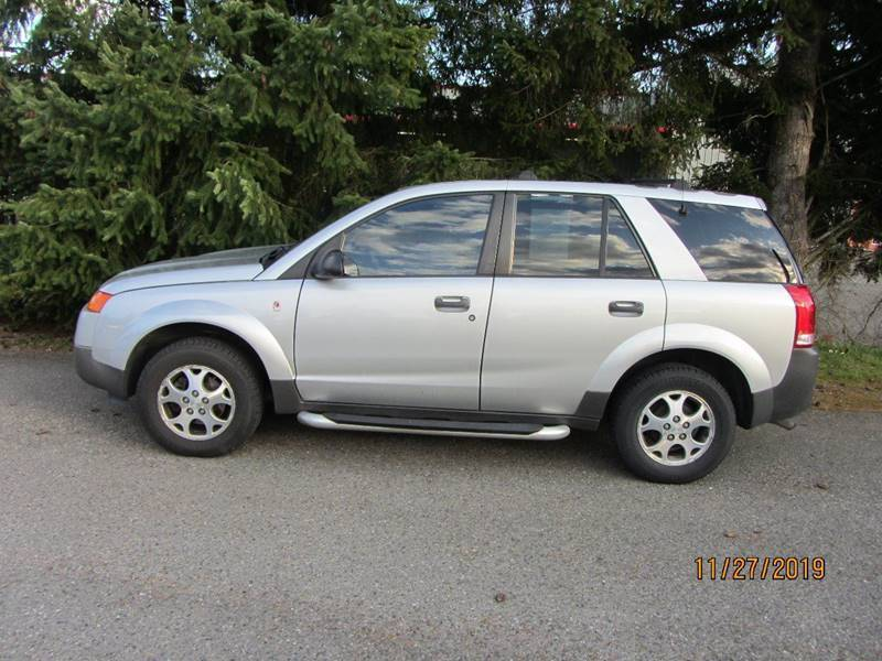 2003 Saturn Vue for sale at B & C Northwest Auto Sales in Olympia WA