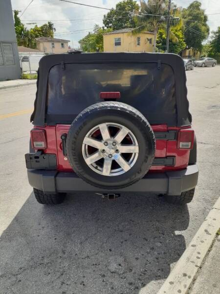 2007 Jeep Wrangler Unlimited 4x4 X 4dr SUV - Miami FL