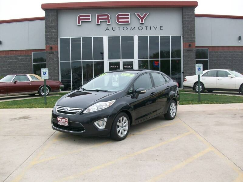 2012 Ford Fiesta for sale at Frey Automotive in Muskego WI