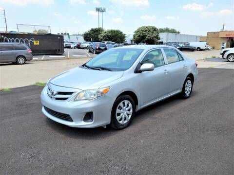 2013 Toyota Corolla for sale at Image Auto Sales in Dallas TX