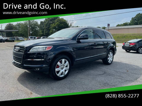 2007 Audi Q7 for sale at Drive and Go, Inc. in Hickory NC