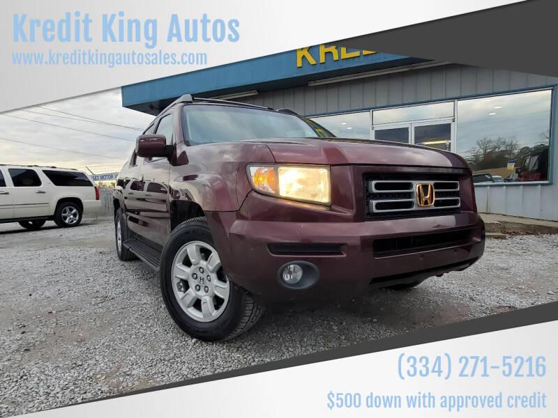 2007 Honda Ridgeline for sale at Kredit King Autos in Montgomery AL
