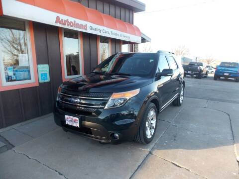 2014 Ford Explorer for sale at Autoland in Cedar Rapids IA
