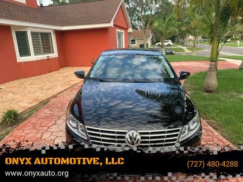 2013 Volkswagen CC for sale at ONYX AUTOMOTIVE, LLC in Largo FL