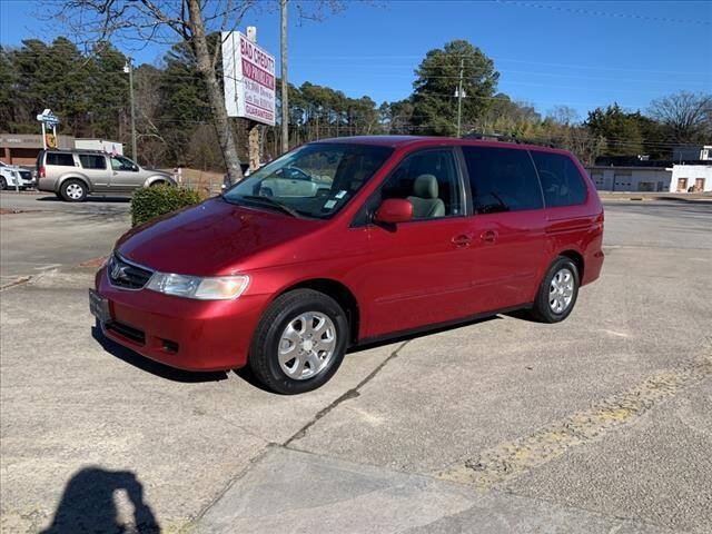 2002 Honda Odyssey for sale at Kelly & Kelly Auto Sales in Fayetteville NC