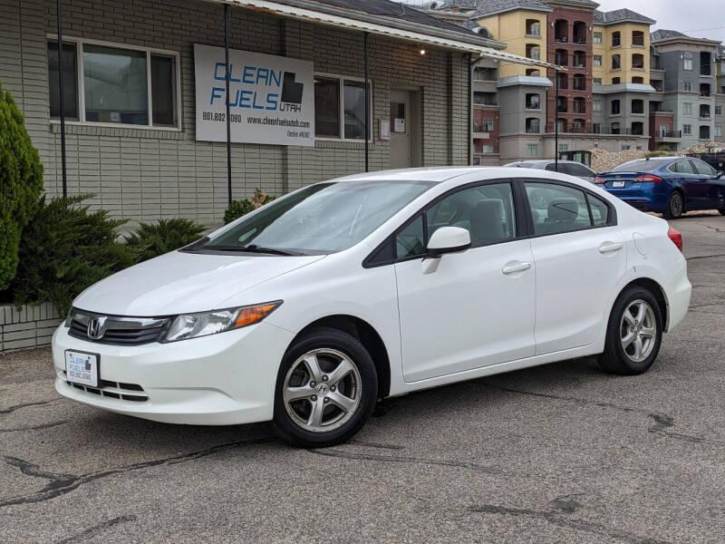 2012 Honda Civic for sale at Clean Fuels Utah in Orem UT