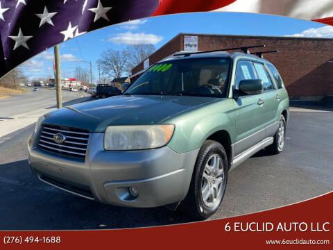 2007 Subaru Forester for sale at 6 Euclid Auto LLC in Bristol VA
