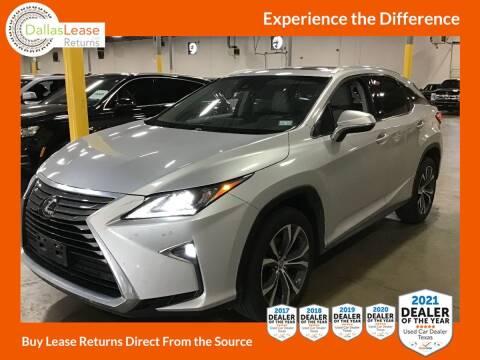 2017 Lexus RX 350 for sale at Dallas Auto Finance in Dallas TX