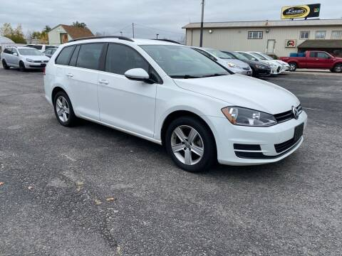 2015 Volkswagen Golf SportWagen for sale at Riverside Auto Sales & Service in Portland ME