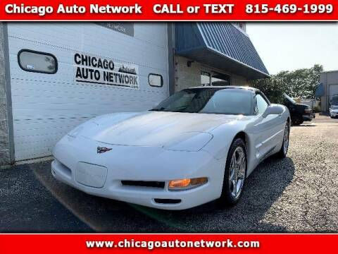 2004 Chevrolet Corvette for sale at Chicago Auto Network in Mokena IL