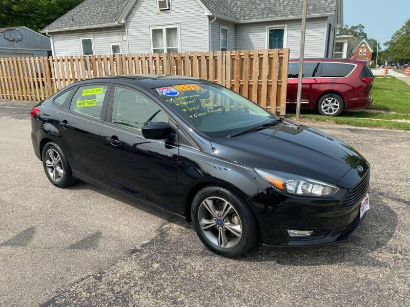 2018 Ford Focus for sale at PEKIN DOWNTOWN AUTO SALES in Pekin IL