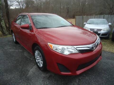 2013 Toyota Camry for sale at Best Choice Auto Market in Swansea MA