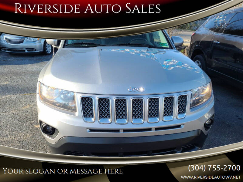 2014 Jeep Compass for sale at Riverside Auto Sales in Saint Albans WV