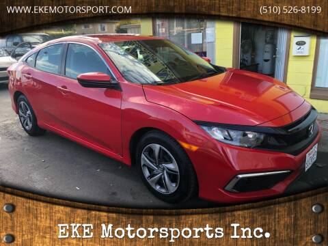 2019 Honda Civic for sale at EKE Motorsports Inc. in El Cerrito CA