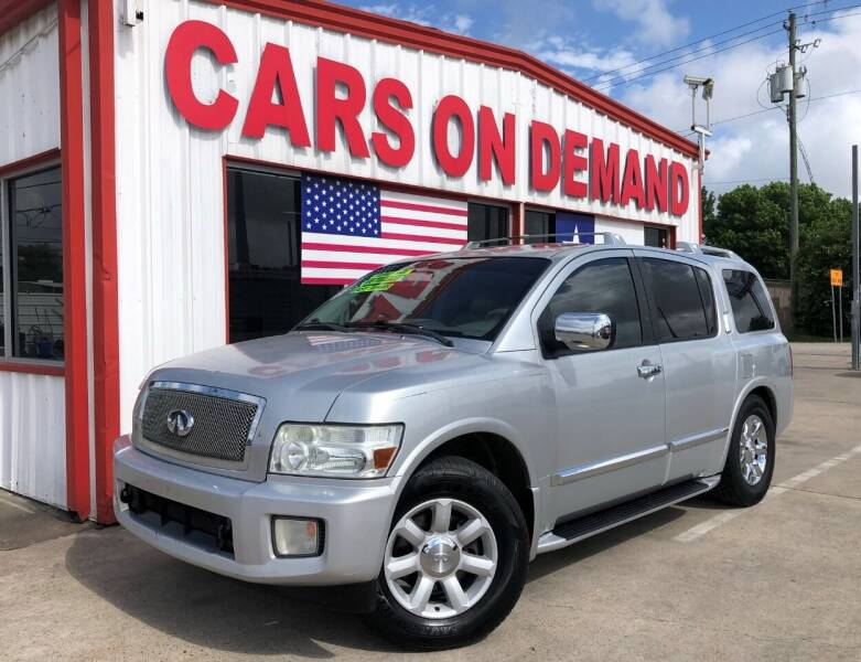 2006 Infiniti QX56 for sale at Cars On Demand 2 in Pasadena TX