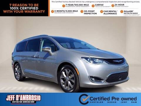 2018 Chrysler Pacifica for sale at Jeff D'Ambrosio Auto Group in Downingtown PA