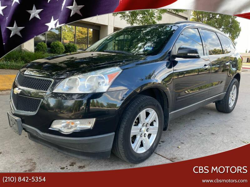 2011 Chevrolet Traverse for sale at CBS MOTORS in San Antonio TX