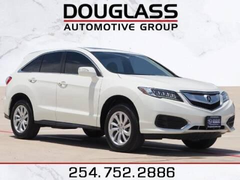 2018 Acura RDX for sale at Douglass Automotive Group - Douglas Subaru in Waco TX