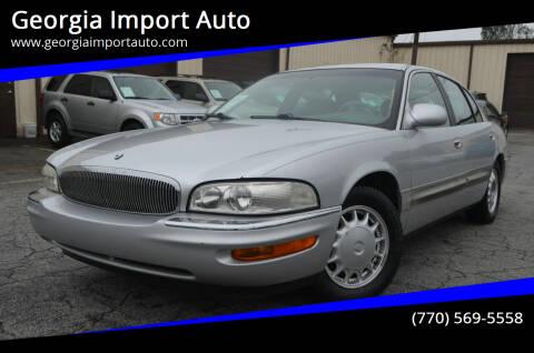 1999 Buick Park Avenue for sale at Georgia Import Auto in Alpharetta GA