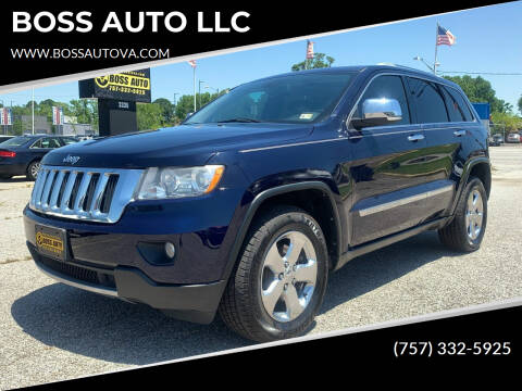 2012 Jeep Grand Cherokee for sale at BOSS AUTO LLC in Norfolk VA