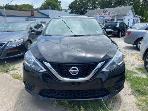 2016 Nissan Sentra for sale at Advantage Motors in Newport News VA