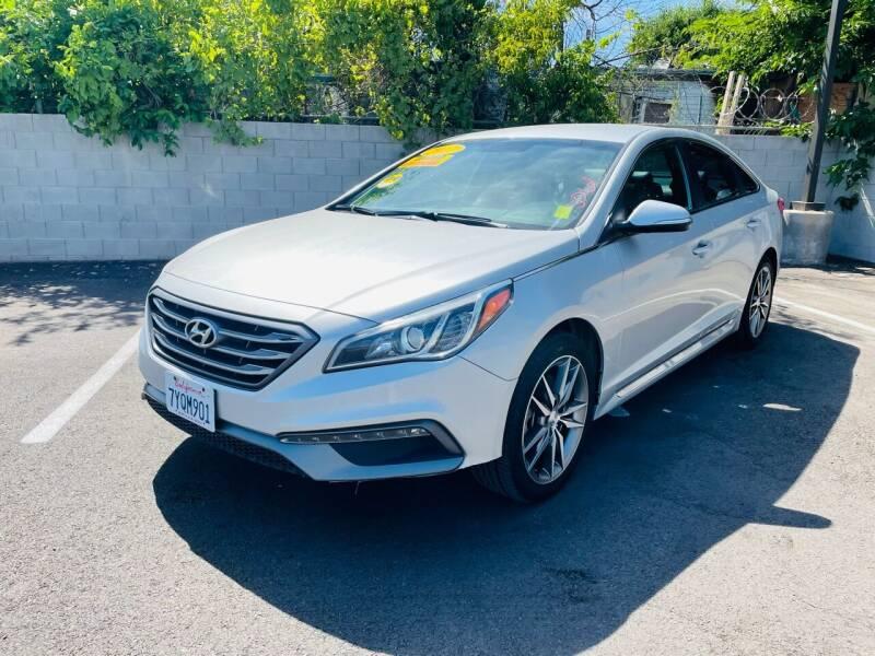 2017 Hyundai Sonata for sale at Used Cars Fresno Inc in Fresno CA