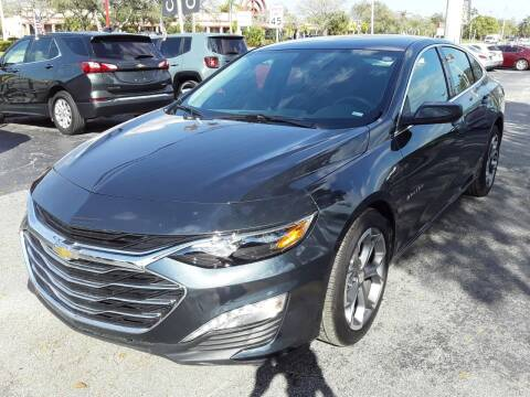 2021 Chevrolet Malibu for sale at YOUR BEST DRIVE in Oakland Park FL