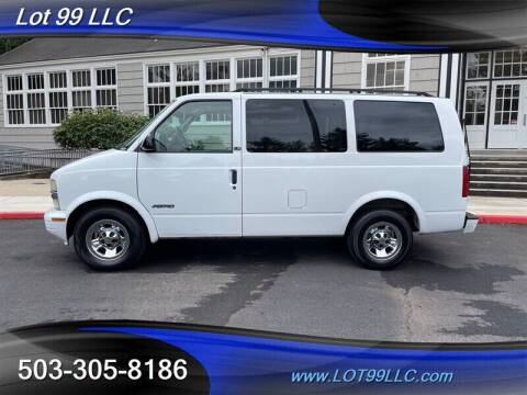 2002 Chevrolet Astro for sale at LOT 99 LLC in Milwaukie OR