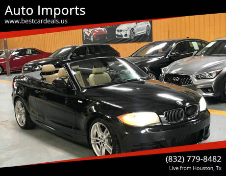 2012 BMW 1 Series for sale at Auto Imports in Houston TX