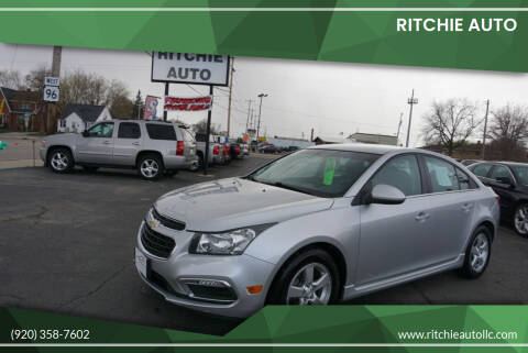 2015 Chevrolet Cruze for sale at Ritchie Auto in Appleton WI