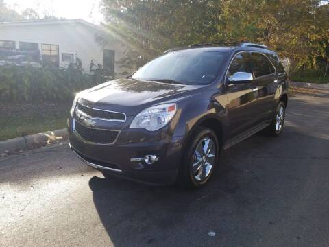 2013 Chevrolet Equinox for sale at TR MOTORS in Gastonia NC