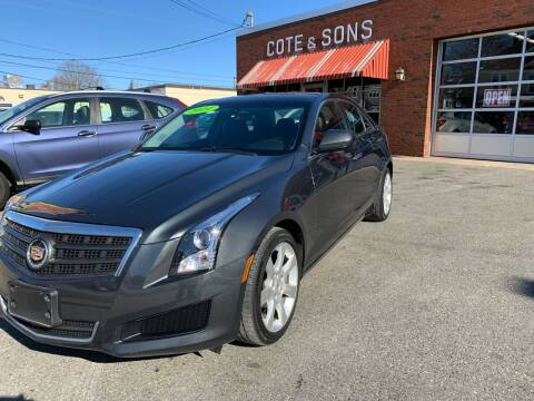 2014 Cadillac ATS for sale at Cote & Sons Automotive Ctr in Lawrence MA