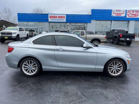 2016 BMW 2 Series for sale at Brian Jones Motorsports Inc in Danville VA